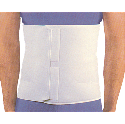 Picture of 4 Panel Deluxe Abdominal Binder (12 inch)
