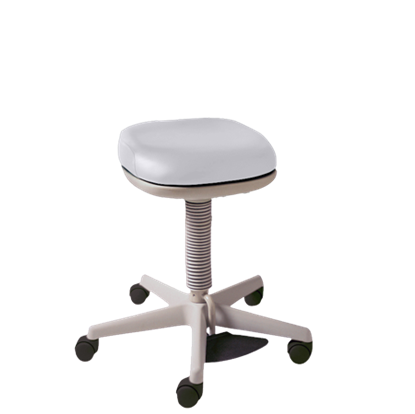 Picture of Midmark 427 Air Lift Physician Stool - Foot Operated