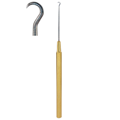 Picture of Gold Plated Handle Skin Hook