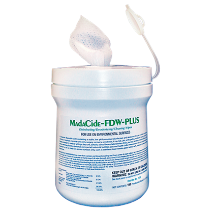 Picture of MadaCide Fast Dry Wipes
